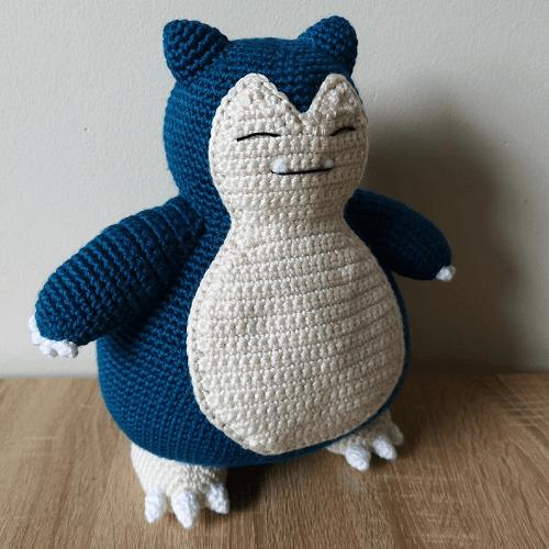 Snorlax Crochet Pattern by Shea Crochetxx