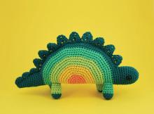 Horace, The Stegosaurus Dinosaur Crochet Pattern by Irene Strange