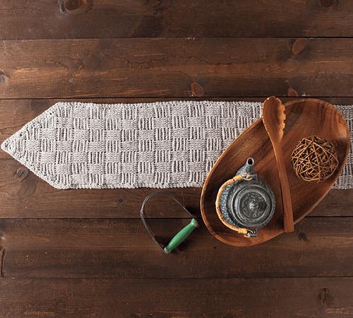 Tissiere Table Runner Crochet Pattern by Beth Major