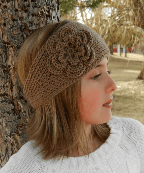 Tunisian Crochet Headband Pattern by Kismet Crochet