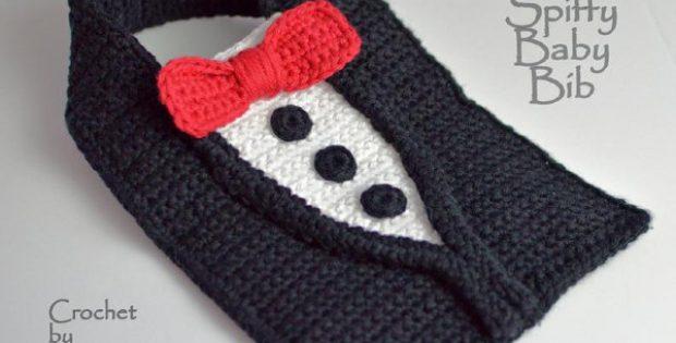 tuxedo crochet pattern toddlers shower gift