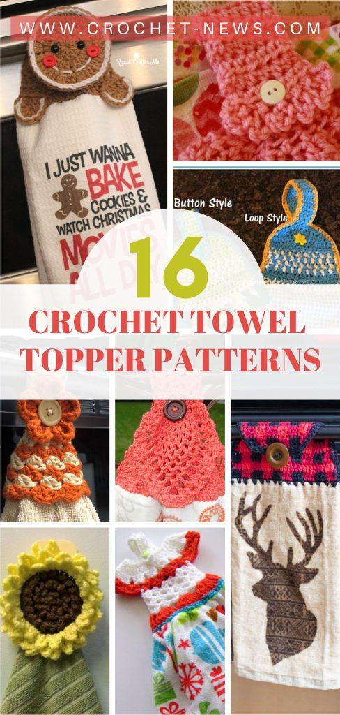 16 Crochet Towel Topper Patterns