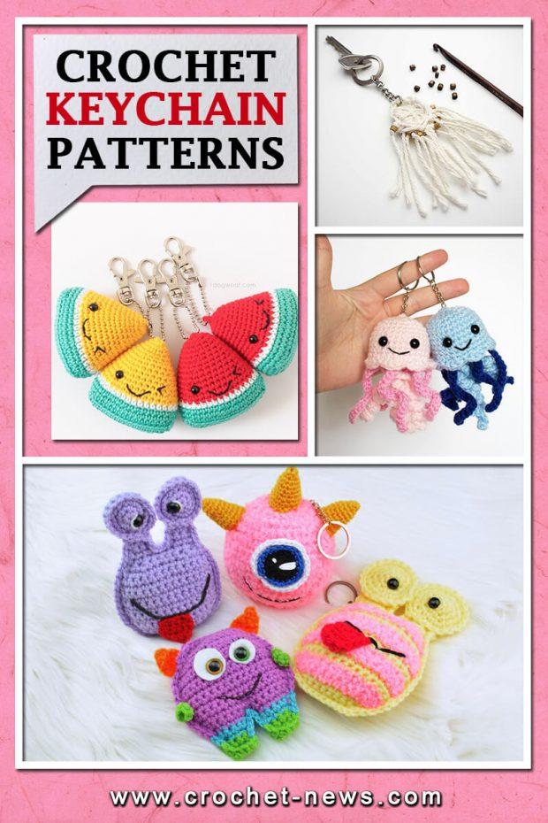 CROCHET KEYCHAIN PATTERNS