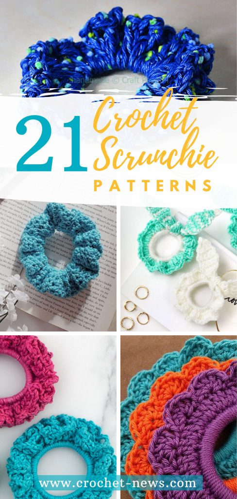 21 Crochet Scrunchie Patterns