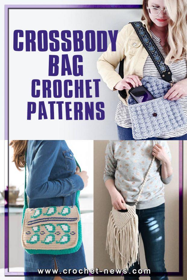 CROCHET CROSSBODY BAG PATTERNS