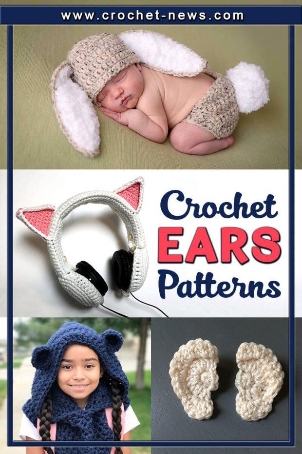 CROCHET EARS PATTERNS