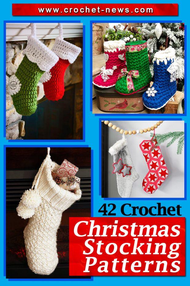 CROCHET CHRISTMAS STOCKING PATTERNS
