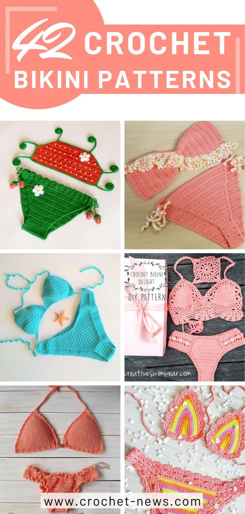 42 Crochet Bikini Patterns