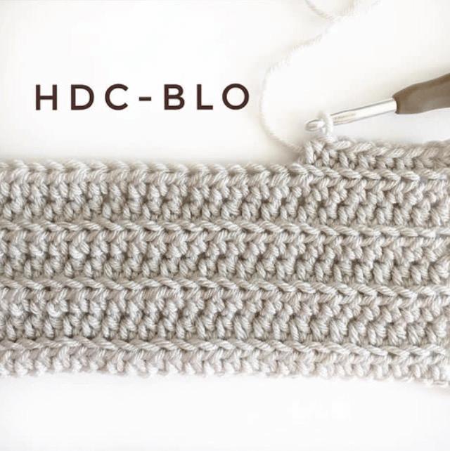 BLO crochet stitch