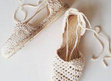 Boho Crochet Sandals Pattern Details