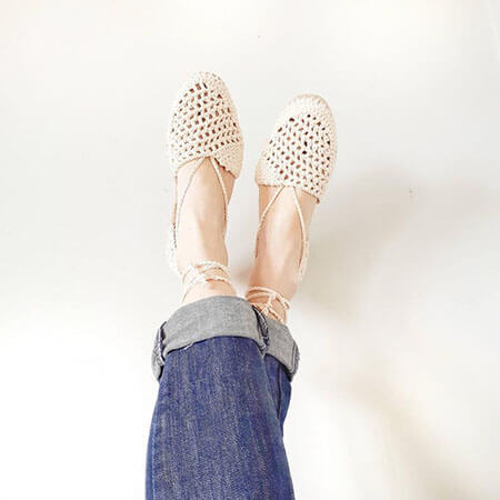 Boho Crochet Sandals Pattern