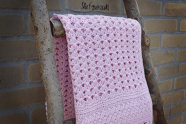 Crochet Iris Stitch Blanket