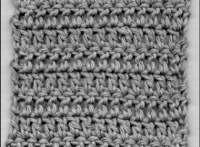 Double crochet stitch tutorial