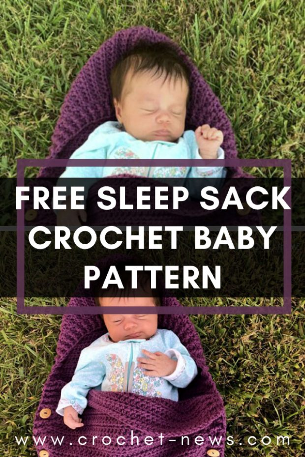 Free Sleep Sack Crochet Baby Pattern