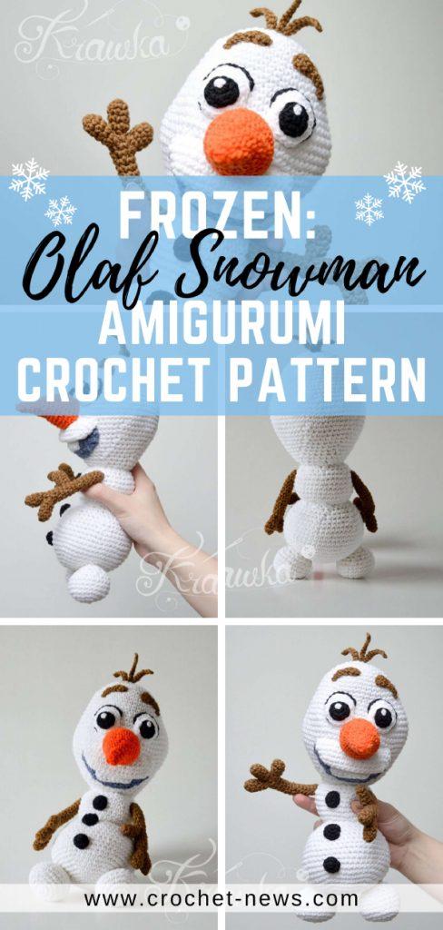 Frozen's Olaf Crochet Pattern