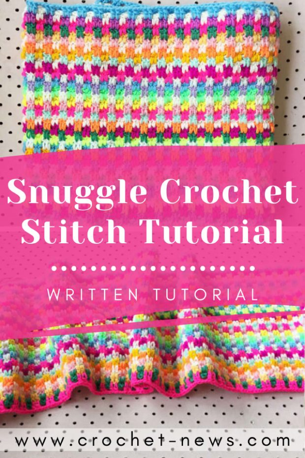 Snuggle Crochet Stitch Tutorial