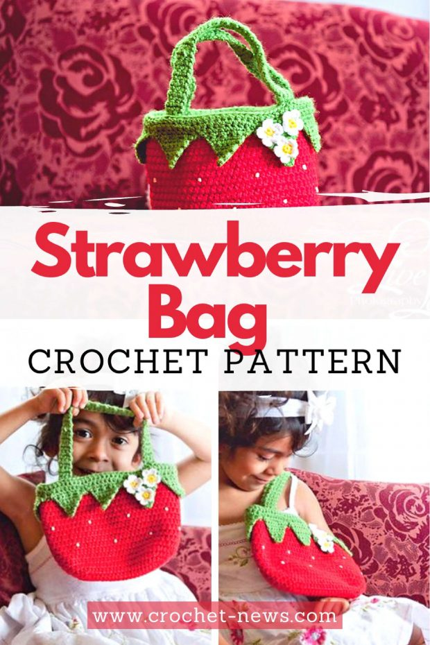 Strawberry Bag Crochet Pattern
