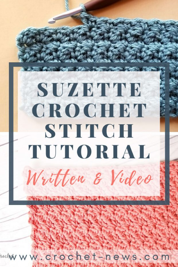 Suzette Crochet Stitch Tutorial