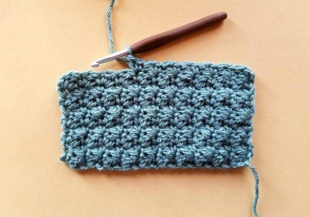 Suzette Stitch Swatch