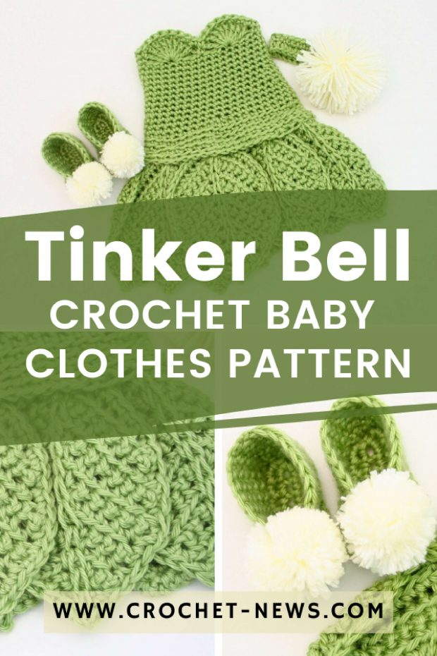Tinker Bell Crochet Baby Clothes Pattern