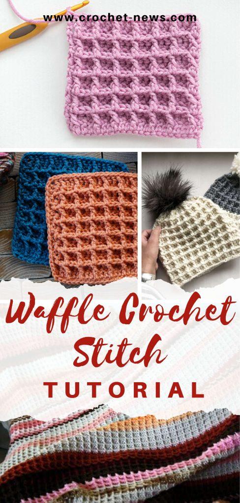 Waffle Crochet Stitch Tutorial