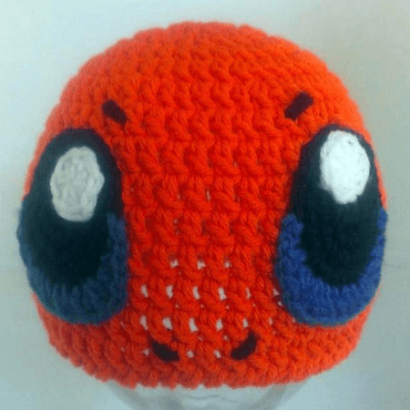 Charmander Pokemon Crochet Hat Pattern by Awe Stitch