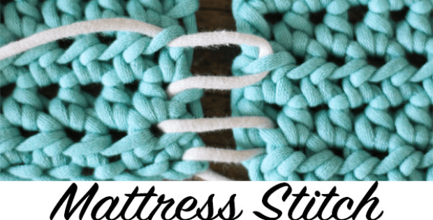 crochet mattress stitch
