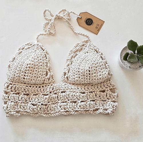 Crochet Sarah Bralette Pattern by OTH Crochet Nook