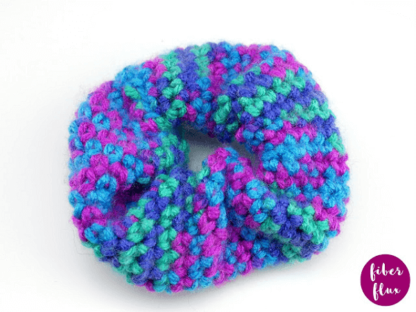 Crochet Scrunchie Pattern by Jennifer Dickerson