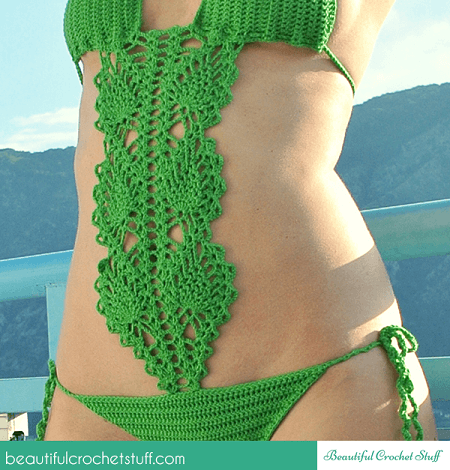 Crochet Swimsuit Pattern by Beautiful Crochet Stuff