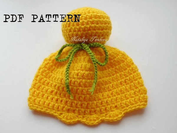 Crochet Tinkerbell Hat Pattern by Nataliya Knitting