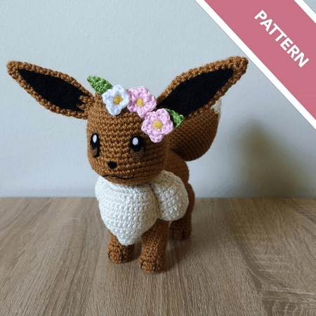 Eevee Crochet Pattern by Shea Crochetxx