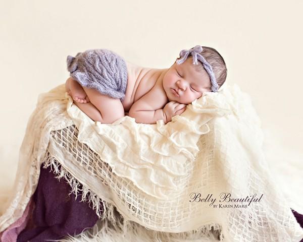girly crochet headband skirt set