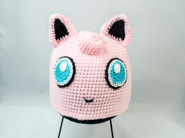 Jigglypuff Hat Crochet Pattern by Crochet With Melanie