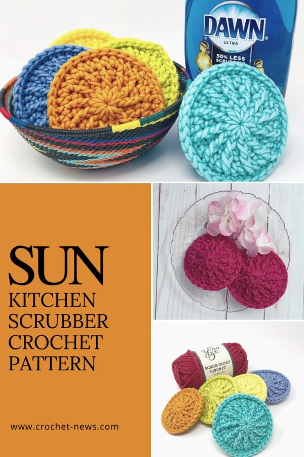 kitchen bathroom cleaner crochet pattern