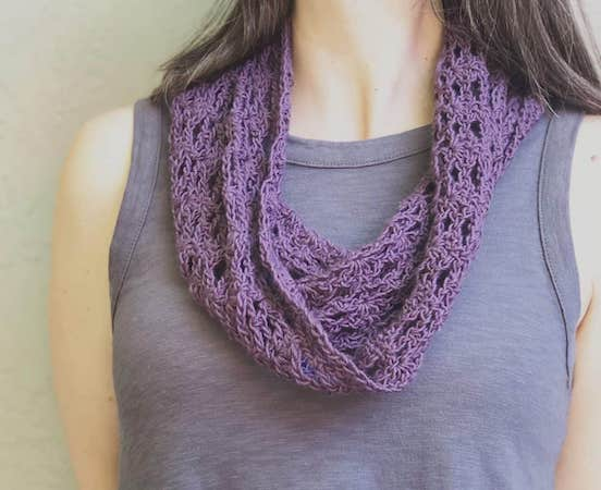 Lia Cowl Free Crochet Pattern by Christa Co Design