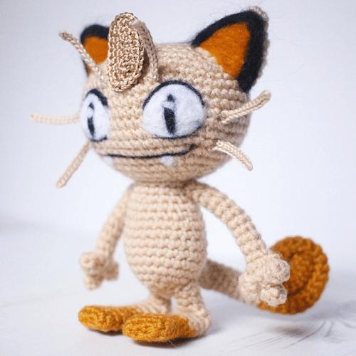 Meowth Amigurumi Pattern by Cathrine Johansson