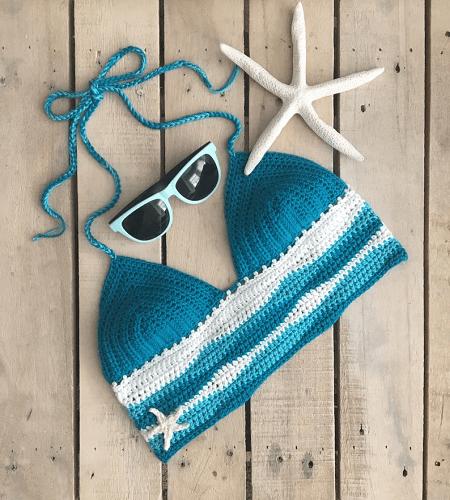 Ocean Bralette Crochet Pattern Evelyn And Peter