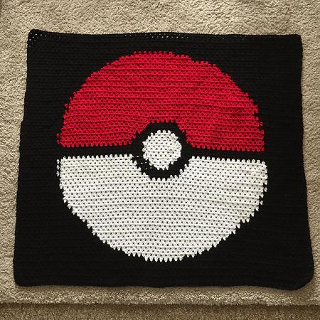 Pokemon Blanket Crochet Pattern by Trish Rice