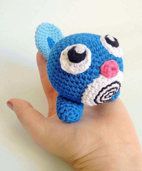 Poliwag Crochet Amigurumi Pattern by Grachilleando y Punto