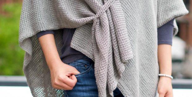 ruana crochet pattern