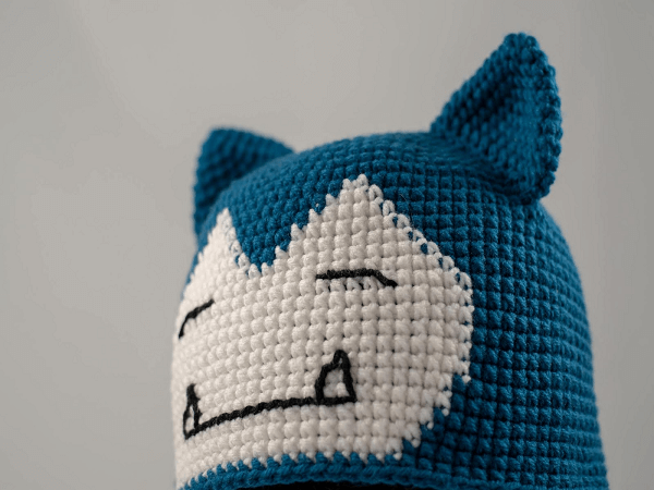 Snorlax Hat Crochet Pattern by Crochet With Melanie