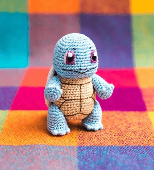 Squirtle Crochet Pattern by Aradiya Toys
