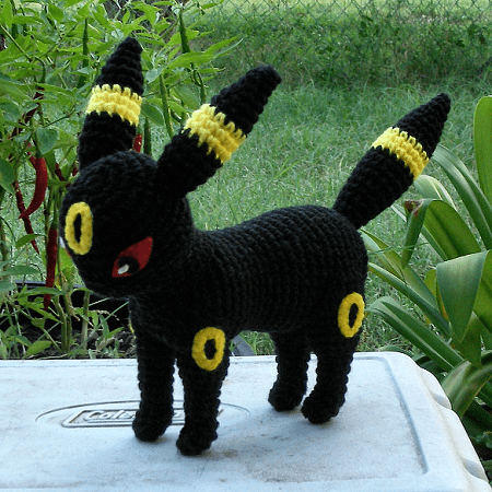 Umbreon Crochet Pattern by Wolf Dreamer Off The Hook