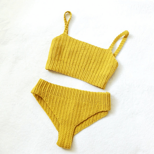 Vega Crochet Bikini Pattern by The Happy Unraveler