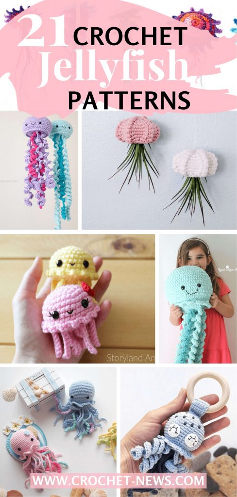 21 Crochet Jellyfish Patterns