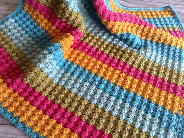 Bubbles Baby Blanket By LullabyLodge