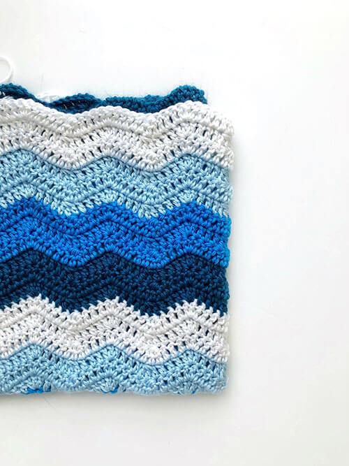 Chevron Baby Blanket By SigoniMacaroni