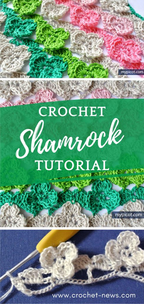 Crochet Shamrock Stitch Tutorial | Written