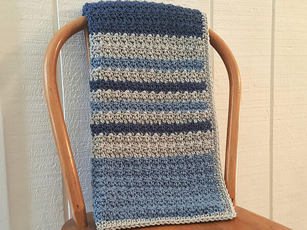 Dylan Baby Boy Blanket By kathyscrochetcloset